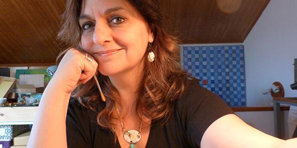 Rosalia Pomés - enamel jewelry -